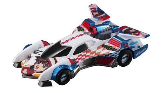 MegaHouse – 「閃電霹靂車」收集系列 阿斯拉G.S.X ASUKA Ver.