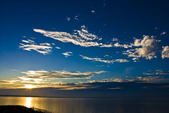 Taiwan,Penghu─I see the heaven (Johnson Hung) Tags: ocean travel blue sunset sea sky cloud sun nature weather canon landscape eos scenery heaven taiwan formosa 台灣 penghu 澎湖 magong 馬公 450d canoneoskissx2