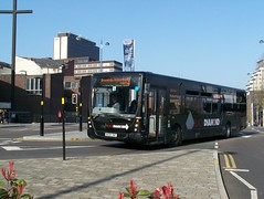 140312-144251 (Diamond Bus Company Limited 30828-BX09SNZ) (Bus Buster UK) Tags: street city black west bus volvo birmingham centre centro diamond via company route 828 service moor limited ltd 56 royale queensway kingstanding midlands livery brownhills plaxton 30828 b7rle bx09snz