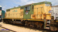 The Chicago&North Western Spirit lives on @ IRM. (Chicago Rail Head) Tags: railroad collection rollingstock alco emd illinoisrailwaymuseum cnw diesels exrockisland artgraphics resorations vanishingrail railsgonebye chicagosrailroad firstrailsoutofchicago