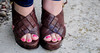 (NevaSpend) Tags: pink feet toes sandals bitch hotpink 2014 bunions nevaspend