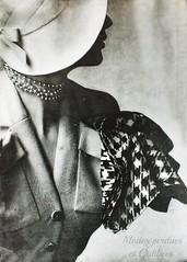 L'Officiel 1949 Dior (modesperdues.blog) Tags: history fashion de la blog des christian histoire mode et dior 1949 modes recherche lofficiel pottier oubliées perdues