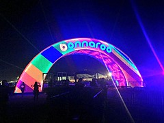 Bonnaroo 2015 in Manchester, TN (Wanderlust.jpg) Tags: life family pink blue red summer sky people music orange color green art love colors beauty sign festival night fun happy photography lights rainbow arch friendship joy entrance culture happiness experience concerts bonnaroo positivity 2015 iphone6 radiatepositivity radiatepositive