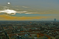 """Turin"" (giannipaoloziliani) Tags: landscape turin italy city panorama torino piedimont piemonte colors sky skyline sunset could tramonto italia art view perspectives moleantonelliana tower nikoncamera nikon nikond3200 clouds altezza 85metri horizon orizzonte"