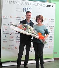 Simone Spagnolo ringrazia Alessandra Angelini