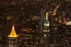 Night New York from the Empire State (Kasimir) Tags: nyc newyork usa empirestate city night lights autofocus