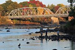 Pont Curé-Marchand, rivière St-François