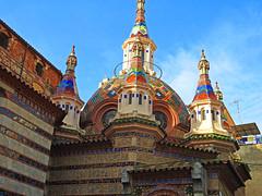 Iglesia Modernista en Lloret de Mar. (Luis Mª) Tags: gerona girona lloretdemar artemodernista arquitectura iglesia