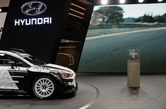 Hyundai i20 WRC (Joseph Trojani) Tags: hyundai i20 hyundaii20 wrc rallye voiturederallye rallyecar motorsport voituredecourse car salondelautomobile paris parismotorshow motor motorshow nikon d7000
