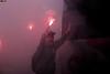 Recepção ao Onibus da Briosa (FlashNaArquibancada) Tags: festa torcida arquibancada ultras pyro pirotecnia livre ar ao santista portuguesa futebol