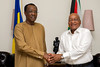 President Jacob Zuma receives courtesy call from President Idriss Deby of Chad, 27 Oct 2016 (GovernmentZA) Tags: president idriss deby chad