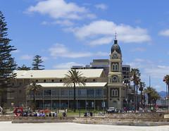 Glenelg Town Hall from the Jetty (|Sarah|) Tags: glenelg beachside beach canon1200d canon photography southaustralia adelaide australia