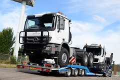 Mercedes Actros MP3 4053 (2016-8) (Martin Vonk) Tags: mercedes actros mp3 4053 pk trucks heavy duty amsterdam mackdag man tgs