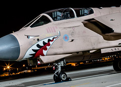 Gnasher's... (Dan Elms Photography) Tags: tornado granby granbytornado operationgranby panavia panaviatornado raf royalairforce marham northolt northoltnightshoot rafnortholt nightshoot night nighttime canon canon70d 70d canoneos70d danelms danelmsphotography