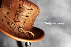 Custom order #steampunk #leathercraft #handmade #dieselpunk #leather #leatherhat #hat #tophat (tovlade) Tags: face mask cyberpunk cyber goth make up goggles girl punk postapocalyptic postapocalypse black steampunk leather hand made larp cybergoth dieselpunk plague doctor