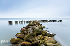 Breakwater (Fotografie Etienne Hessels) Tags: 2016 fotografieetiennehessels sony enkhuizenholland oktober outdoor water landscape waterscape seascapes seascape waterscapes waterfront color holland dutch enkhuizen rocks wood longexposure longexposureshots zeiss lee filter lightroom nature