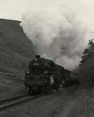 Double standards (feroequineologist) Tags: 76038 76079 76084 railway train steam nym nymr northyorkshiremoorsrailway
