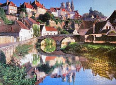 France, Burgundy, Semur-en-Auxois (pefkosmad) Tags: jigsaw puzzle leisure hobby pastime complete 1000pieces photograph france burgundy semurenauxois