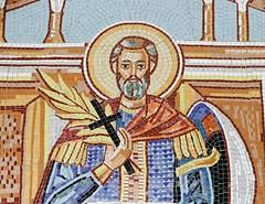 Detail Wall, Bisericii Sfantul Mina (Miranda Ruiter) Tags: brasov romania church religion orthodox mosaic wall art iconography icons transsylvania