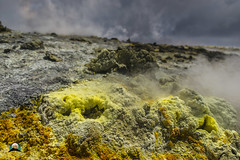 Sulphurous surface (Vulcanian) Tags: volcano etna sulfur summitcraters sicily sicilia steam