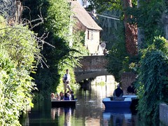 River Tour on the Great Stour, Canterbury (Alex-397) Tags: canterbury kent river clearsky