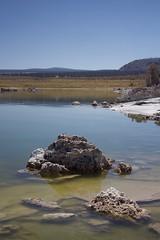 Tranquility (annelaurem) Tags: monolakenationalpark leeirving california usa america water lake stone landscape sky blue green