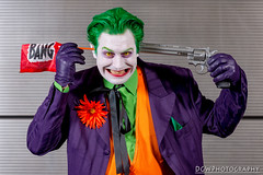 I'm not crazy...  Bang! (dgwphotography) Tags: cosplay nycc nycc2016 newyorkcomiccon nikond600 nikoncls thejoker dccomics dc