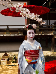 """Japan-1-0016- arashiyama - geisha (david """"Djannis"""") Tags: japan japon arashiyama geisha"""