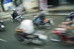 Motorbike Madness (annemcgr) Tags: motorbikes bikes vietnam movement icm blur blackandwhite monochrome fineartphotography annemcgrath