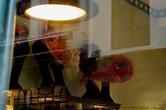 La Chapelire Bruxelles (Natali Antonovich) Tags: hat hats hatisalwaysfashionable sablon dezavel reflection shopwindow shop brussels sweetbrussels belgium belgique belgie lachapelirebruxelles