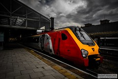 ChesterRailStation2016.10.20-1 (Robert Mann MA Photography) Tags: chesterrailstation chesterstation chester cheshire chestercitycentre trainstation station trainstations railstation railstations arrivatrainswales class175 virgintrains class221 supervoyager class221supervoyager merseyrail class507 northern northernrail pacer class142 city cities citycentre architecture nightscape nightscapes 2016 autumn thursday 20thoctober2016 trains train railway railways railwaystation