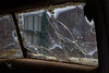 RS 083 - Toronto Distillery District - Broken Windshield (JimP (in Sarnia)) Tags: toronto distillery district windshield window rusty crusty