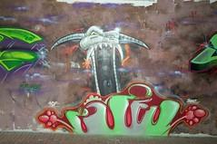 Graffiti140402 - 91 (Ruhrgebiets Farben) Tags: graffiti 2002 hall fame schrenkamp tunnel gladbeck