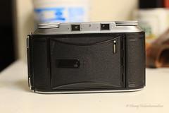 Hmm... looks like a notebook... (dheeruparu) Tags: voigtlander bessa ii 6x9 medium format film color skopar 105mm 35 range finder