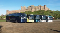 Travelsure, Belford. (hly524v) Tags: travelsure belford northumberland mercedesbenz tourismo setra bamburgh nebuses bamburghcastle yutong