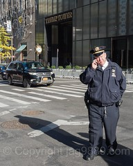 NYPD Police Officer at Trump Tower, Midtown Manhattan, New York City (jag9889) Tags: 725fifthavenue jag9889 usa clock nypd manhattan midtown policeofficer newyorkcity fifthavenue newyork outdoor 2016 president trumptower 20161110 5thavenue cop finest firstresponder lawenforcement ny nyc newyorkcitypolicedepartment officer police policedepartment unitedstates unitedstatesofamerica us donaldtrump