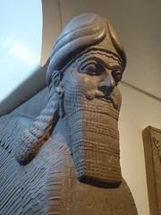 Lamassu from Nimrud (Aidan McRae Thomson) Tags: lamassu nimrud britishmuseum london ancient sculpture statue assyrian mesopotamia