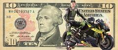 10 Dollar Yamaha (driver Photographer) Tags:   aprilia cagiva honda kawasaki husqvarna ktm simson suzuki yamaha ducati daytona buell motoguzzi triumph bmv driver motorcycle leathers dainese