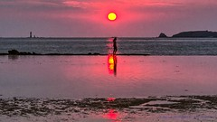 Solnedgang i Saint-Malo (bryjenbryjen) Tags: pentaxlens55300mmf458edwr hdr easyhdr pentax55300 pentaxk30 france bretagne frankrig2014 saintmalo solnedgang fr