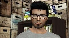 Craig (mertiuza) Tags: ts4 ls4 sim sims los 4 sims4 sim4 ea eagames game games maxis lossims thesims lossims4 thesims4 luev tarih tarihsims tarihsim ts mertiuza male chico boy hombre brunette freak friki nerd glasses gamer