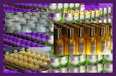 Fragonard creme production (Vee living life to the full) Tags: eze cathedral perfume soaps fragonard still factory duck canard mass production bottles jars dark glass creme cream box shapes castle hill nikond300