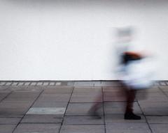 Passing By (stevedexteruk) Tags: blur blury slowshutter london 2016 uk closed street motionblur