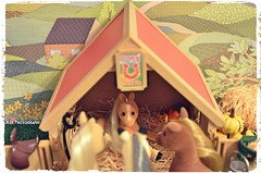 We are so happy to announce the newest branch on our horse family tree! (violet-pegasus) Tags: sylvanianfamilies calicocritters   miniatures dollhouse thanksgiving seasonofthanks happy newestbranch familytree horsefamilytree horse pony foal