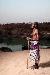Himba Man 4050 (Ursula in Aus) Tags: africa namibia himba portrait offcameraflash