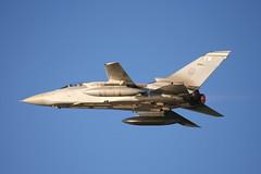 ZE831 FM (calzer) Tags: skies sunny blue afterburner reheat flying tornado f3 fm jet fighter raf kinloss