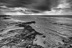 The Atlantic at Asilah (Sue_Hutton) Tags: asilah atlanticocean maroc morocco november2016 autumn northernmorocco rocks stormclouds