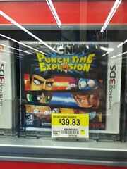 Cartoon Network Punch Time Explosion (splinky9000) Tags: pembroke ontario wal mart cartoon network punch time explosion video game nintendo 3ds samurai jack chowder bloo fosters home for imaginary friends buttercup powerpuff girls ben 10 alien force the marvelous misadventures of flapjack grim billy and mandy dexters laboratory