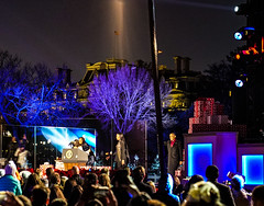 2016.12.01 Christmas Tree Lighting Ceremony, White House, Washington, DC USA 09286