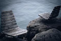 aux premières loges (mamuangsuk) Tags: auxapremieresloges seat entre nouslac leman cully plagedecully automne autumn fall grain noise mamuangsuk