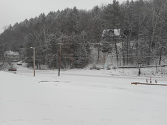 Snowy Morning at Econolodge Montpelier 1 (SierraSunrise) Tags: snow newengland usa vermont montpelier vt
